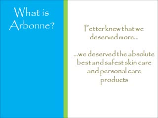 What Is Arbonne 9 Minute Presentation For Smartphones And Tablets